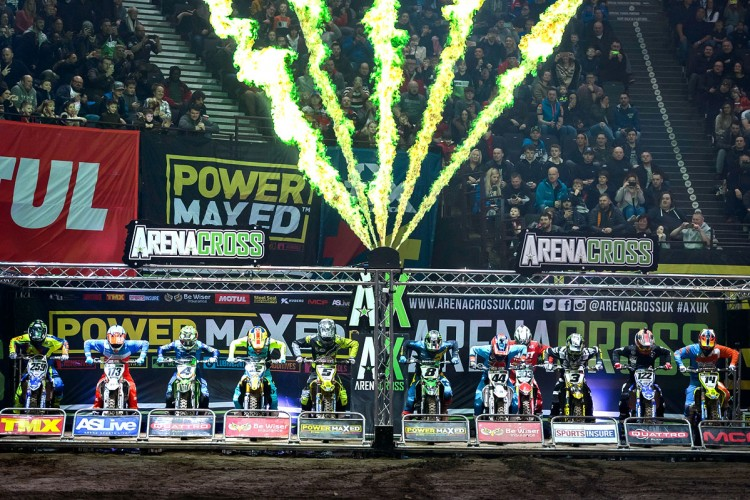 Automotive Brands at the Power Maxed Arenacross Tour