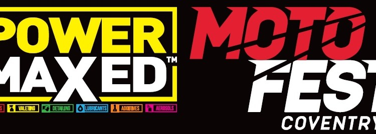 Power Maxed Becomes Title Sponsor of Coventry MotoFest