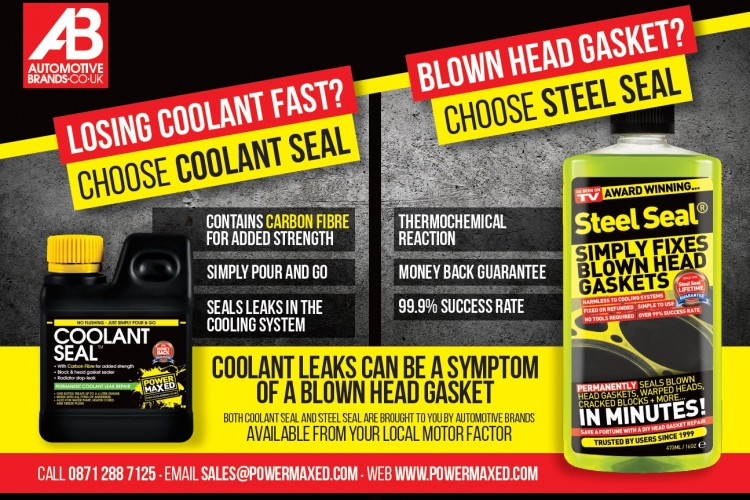 Coolant Seal and Steel Seal Promoted in CAT Magazine